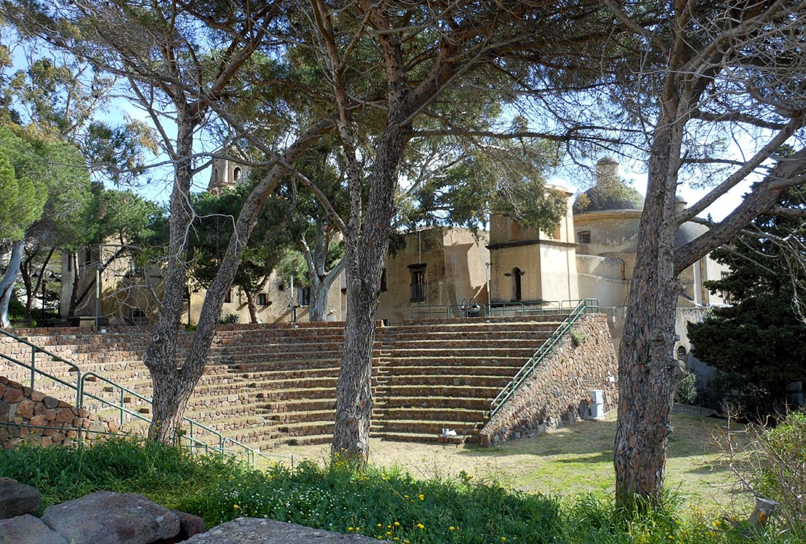 Lipari - Anfiteatro greco romano