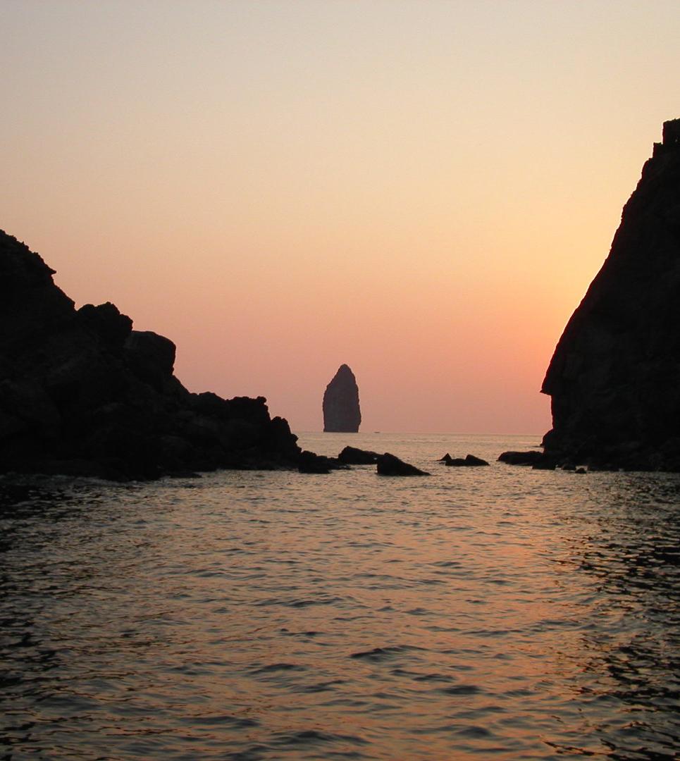 Isola di Lipari - Faraglioni